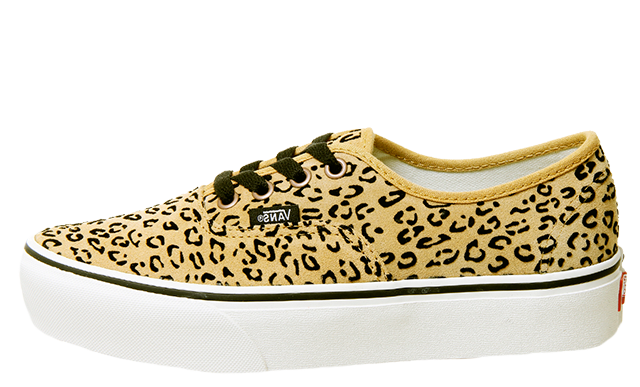 Vans Authentic Platforms Leopard