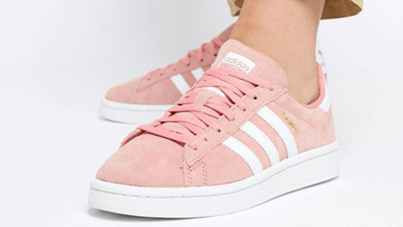 adidas Campus Pink White 04