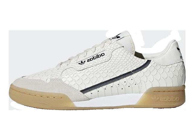 adidas Continental 80 White Gum D96659