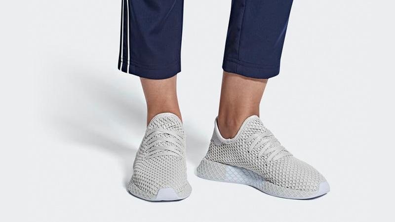 adidas Deerupt Grey Womens B41726 04