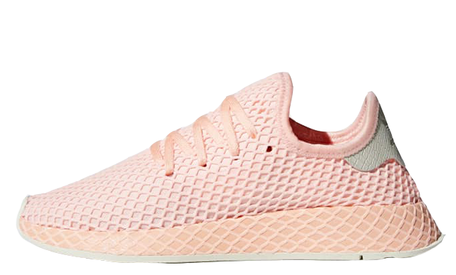 98bb0d423 adidas Deerupt Orange Grey Womens