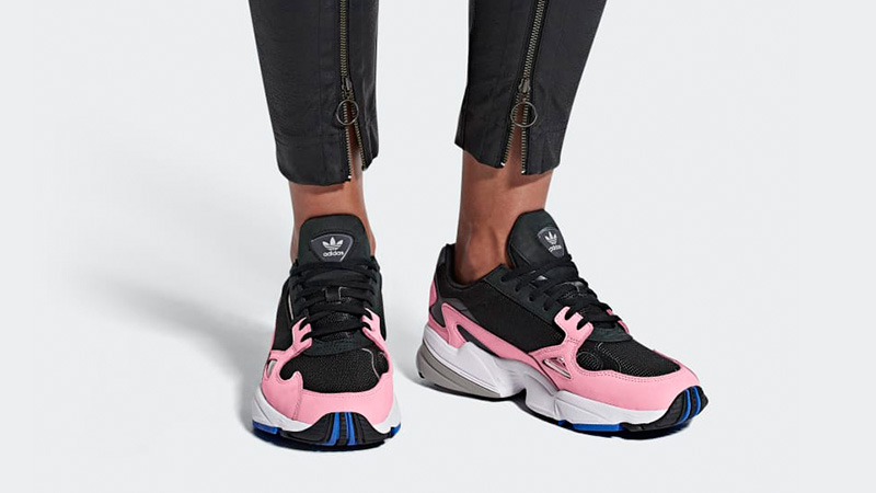 Adidas Falcon Black Pink B28126 The Sole Womens