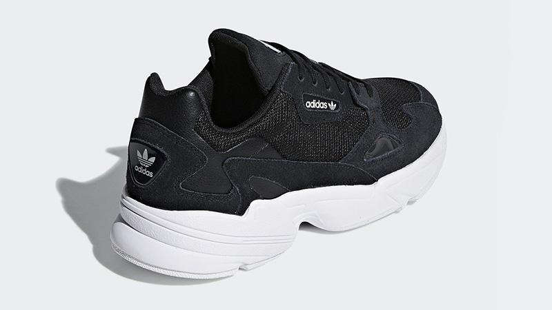 adidas Falcon W (black white) B28129 | 43einhalb Sneaker Store