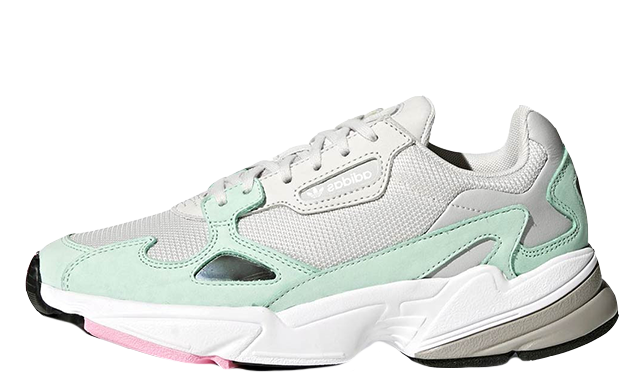 detailed look 07209 16169 adidas Falcon Watermelon Easy Green  B28127