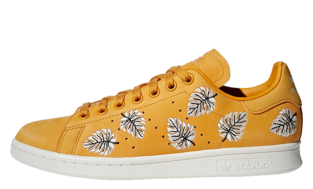 adidas Stan Smith Yellow White Womens B28013