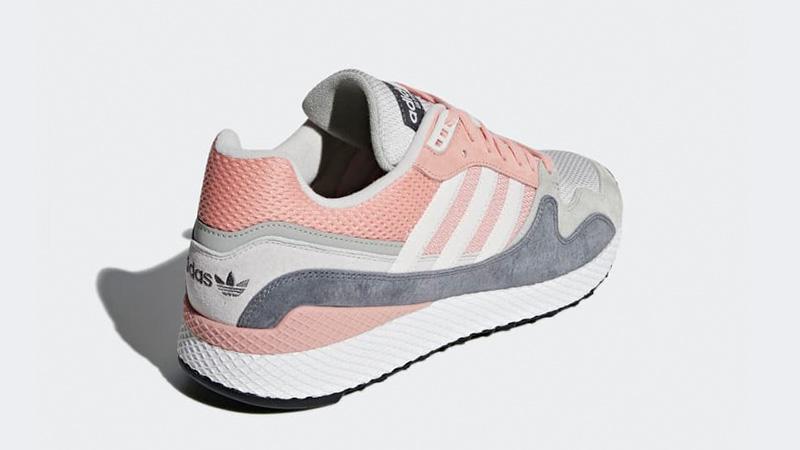 82ca4091ff adidas Ultra Tech Pink Grey   B37917   The Sole Womens