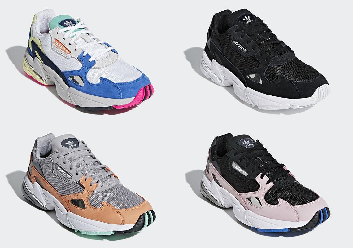online store 6f424 86d44 Four New Colourways Of The adidas Falcon Are Launching Next ...