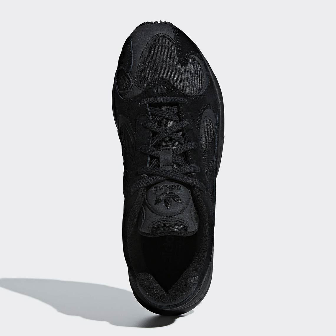new arrivals cefcd 00383 adidas Yung 1 Black  G27026