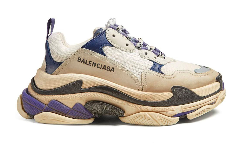 Balenciaga s notorious Triple S sneaker is showing no signs of slowing down  this season. 3fd51454ef7