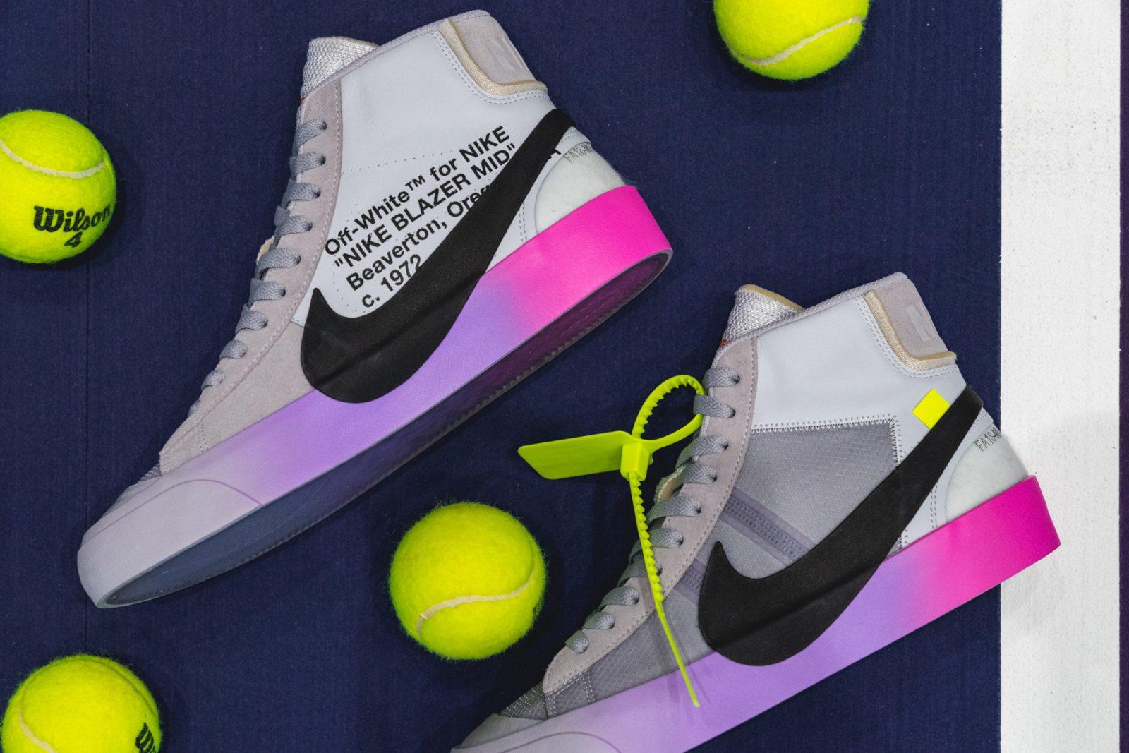 "Off-White x Serena Williams x Nike Blazer ""QUEEN"""