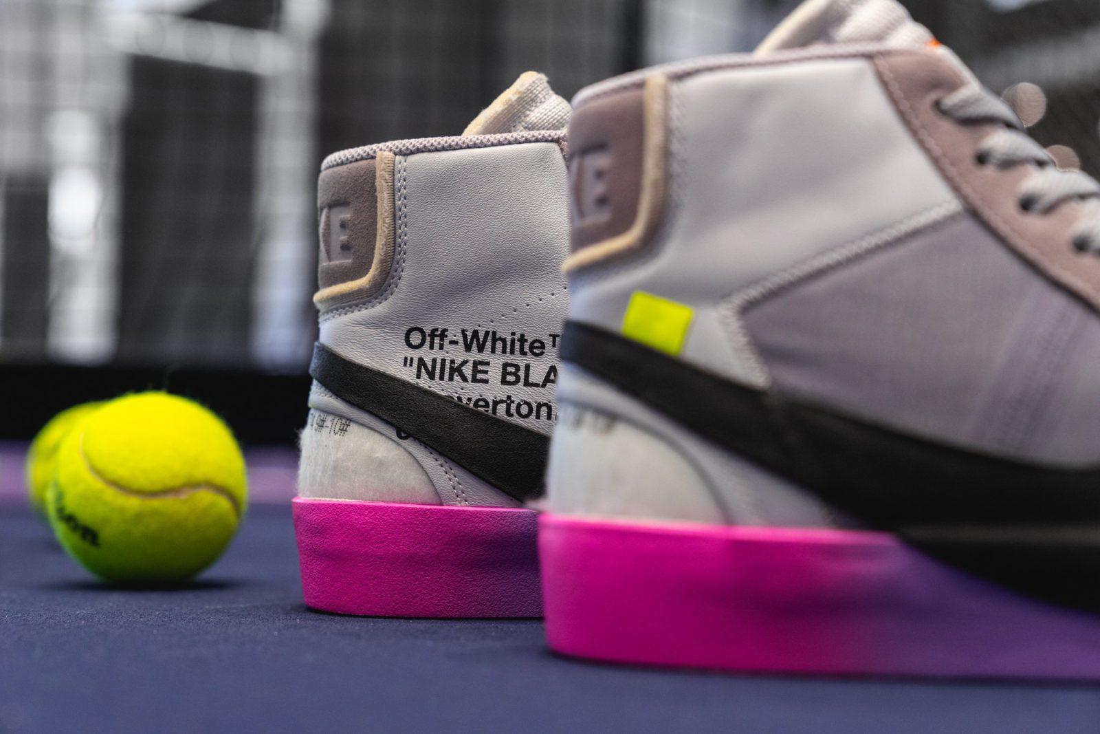 "wholesale dealer 72eba f4e92 Off-White x Serena Williams x Nike Blazer ""QUEEN"""