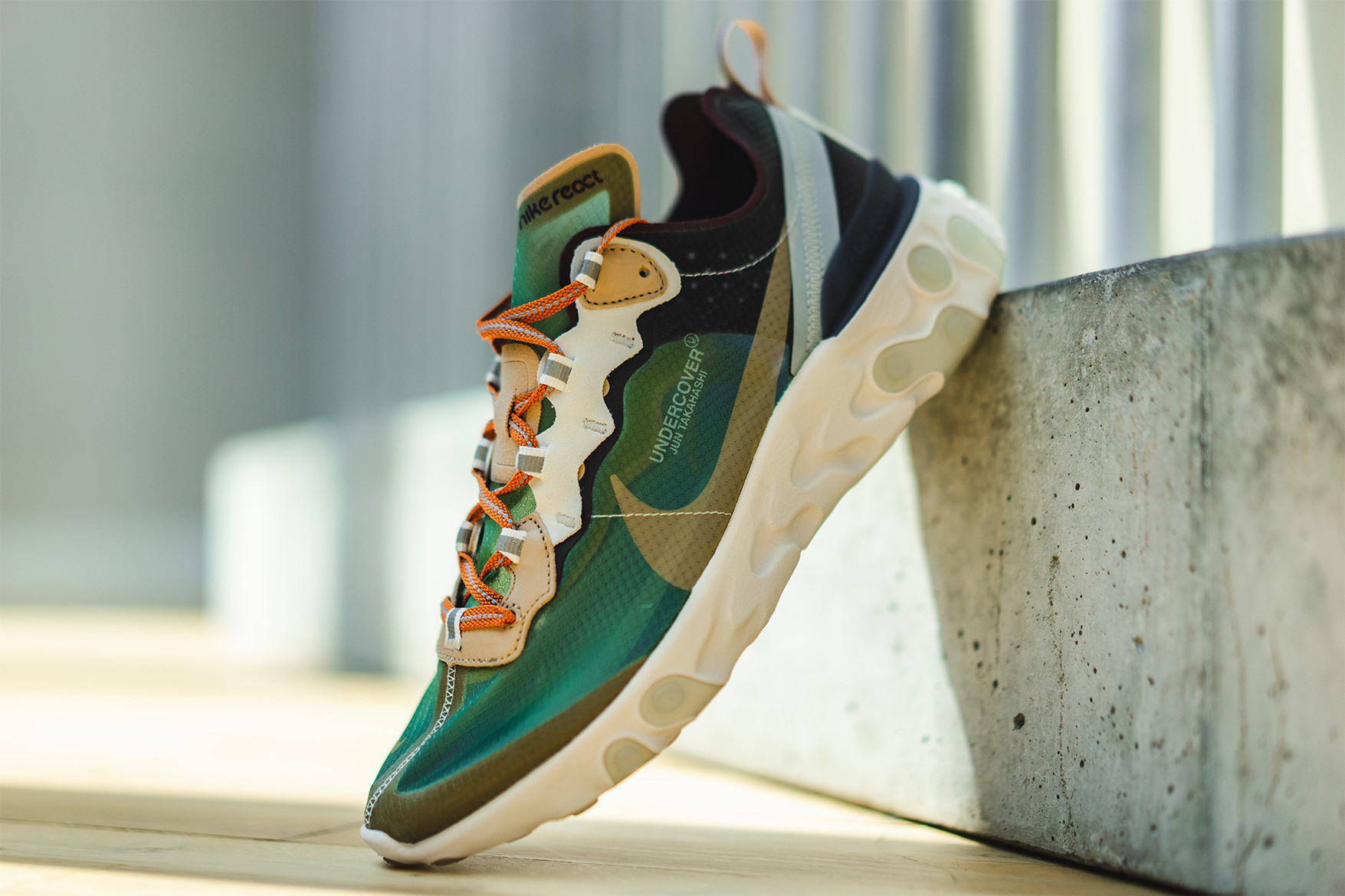 dc94e6adf53c Check Out The Detailing On The UNDERCOVER x Nike React Element 87 ...