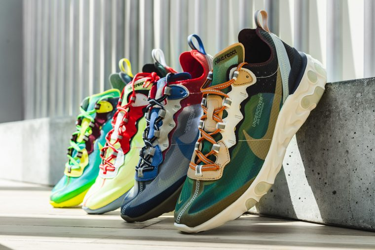 cfcc55e873cc8 Check Out The Detailing On The UNDERCOVER x Nike React Element 87 ...