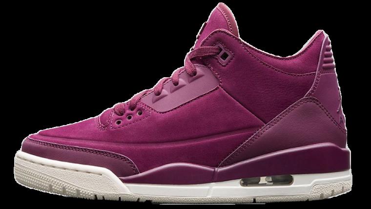 Air Jordan 3 Bordeaux Womens | AH7859-600