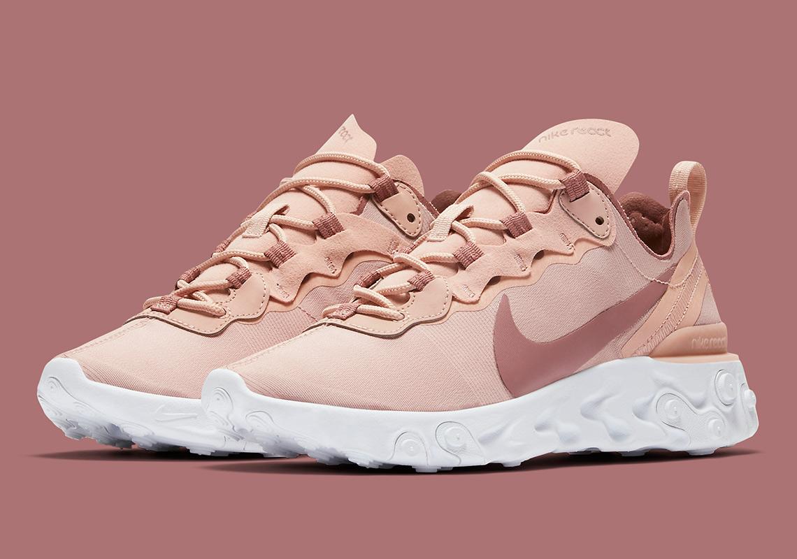 "Nike React Element 55 ""Particle Beige"" | BQ2728-200"