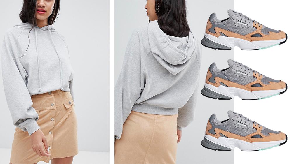 c42b43c14a9 Autumn Edit  adidas Falcon x Sweatshirt Co-Ords