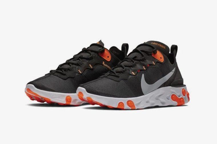 c97571ee81da1 Nike s React Element 55 Arrives With Vibrant Orange Highlights ...