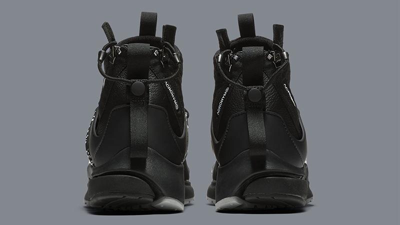 a30e11922e2c ACRONYM x Nike Air Presto Mid Grey Black