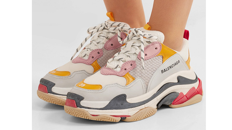 Balenciaga Triple S Grey Yellow 05