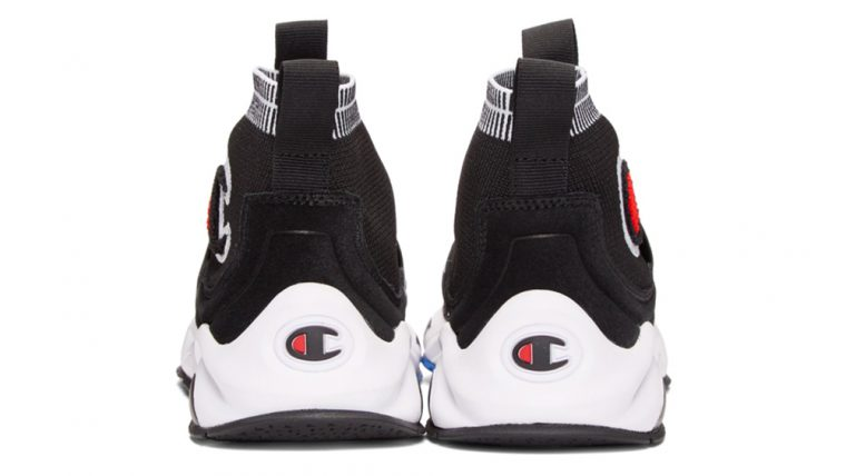 e1a72660f91d7 Champion Reverse Weave Black Rally Pro High-Top Sneakers