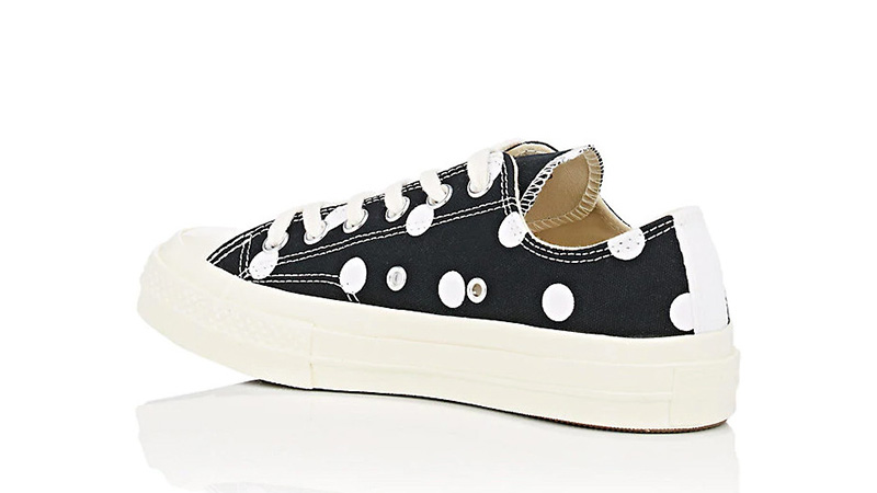 c5e4a615d7d3 Comme des Garcons Play x Converse Chuck Taylor All Star 70 Low Polka Dot  Black 01
