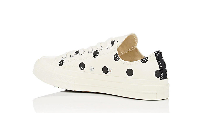 230bffd5b66c Comme des Garcons Play x Converse Chuck Taylor All Star 70 Low Polka Dot  White 01