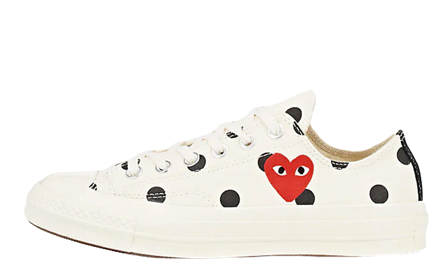 850de9886c94 ... for release reminders and stay tuned to our social media pages for more  updates. UK true DD MM YYYY. Comme des Garcons Play x Converse Chuck Taylor  ...