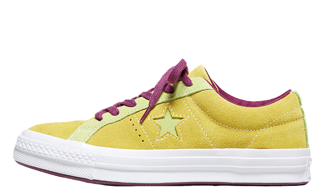 converse one star yellow