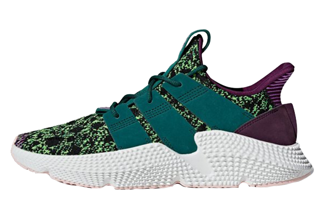 Dragon Ball Z x adidas Prophere Cell Saga Pack Green