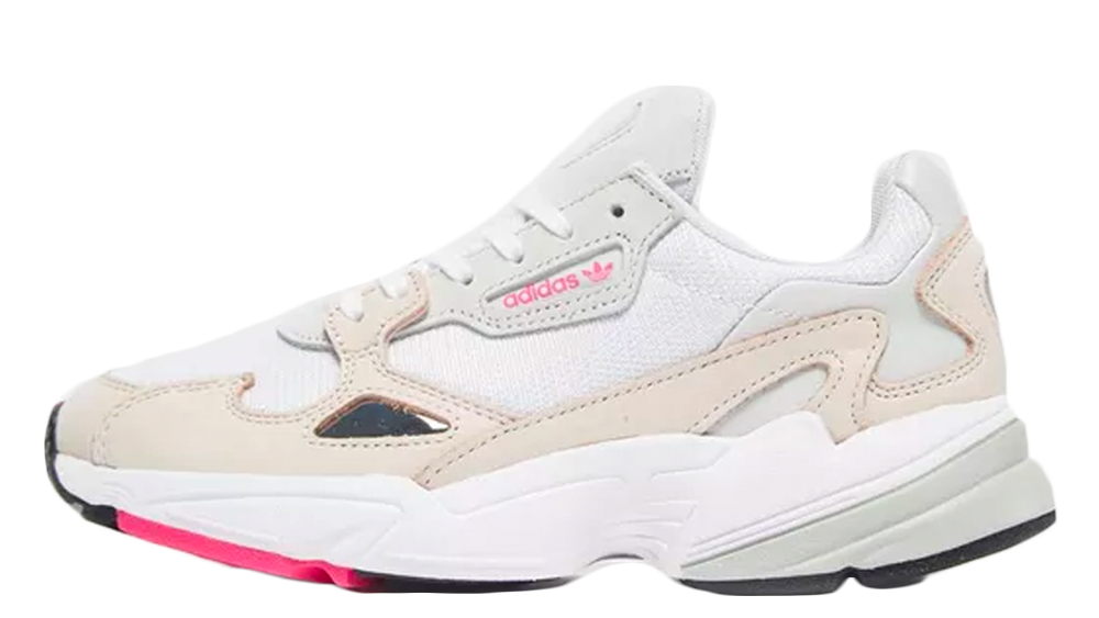 online retailer 81904 88fed adidas Falcon Cream Pink