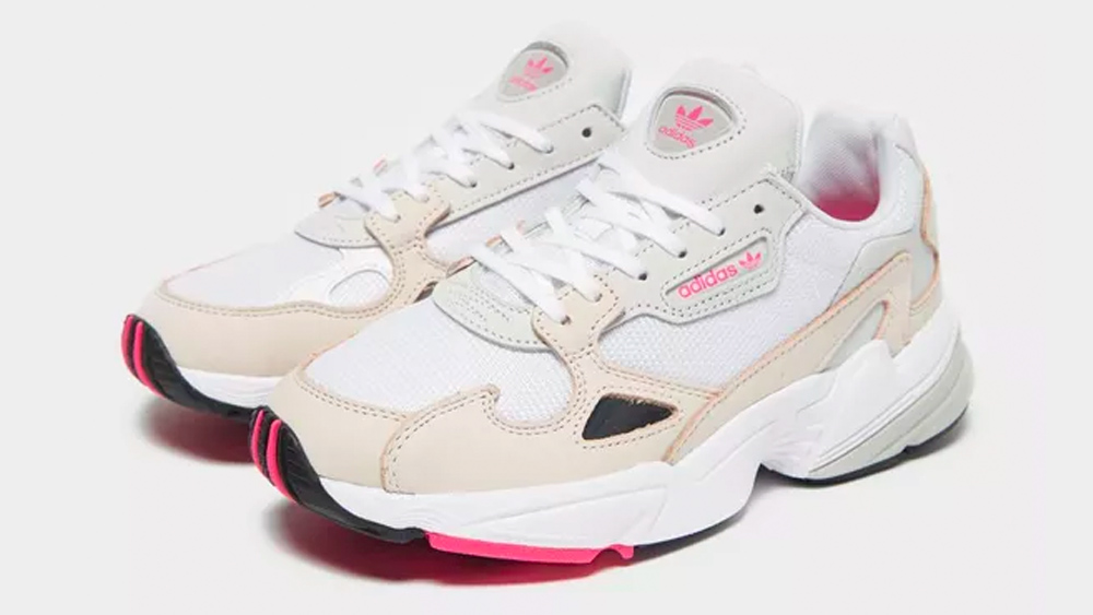 Adidas Falcon Cream Pink The Sole Womens