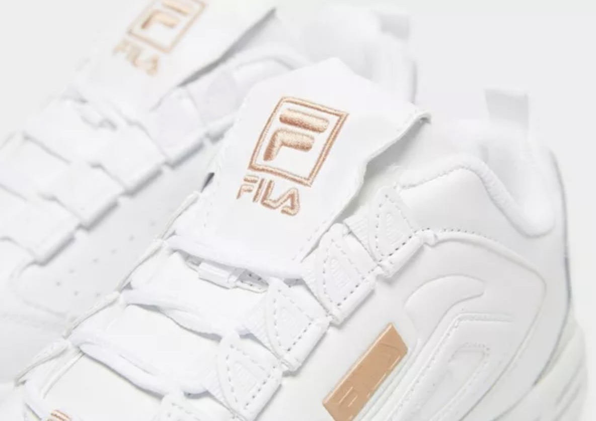 Fila Disruptor 3 White Womens