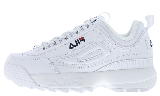 Fila Disruptor II White Womens