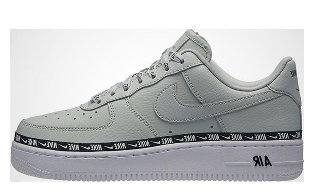 Nike Air Force 1 Premium Low Logo Ribbon Pack Mint White | AH6827 003