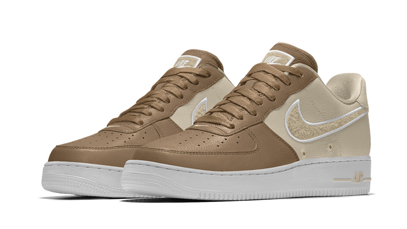NIKE AIR FORCE 1 LOW WINTER PREMIUM GS WHEAT Nike air force 1 lady's sneakers 943,312 200 beige [228 Shinnyu load] [182]