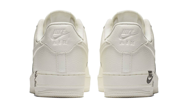 Nike Air Force 1 Stamp Logo Sail 01