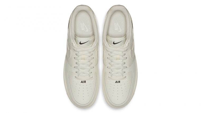 Nike Air Force 1 Stamp Logo Sail 02 thumbnail image