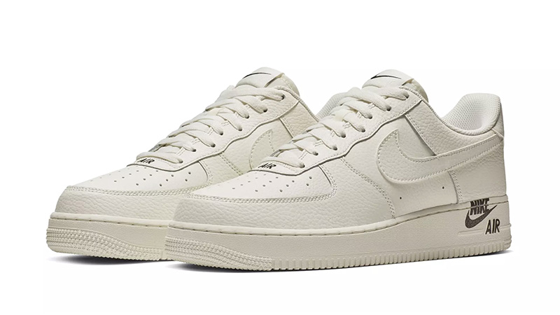 Nike Air Force 1 Stamp Logo Sail 03