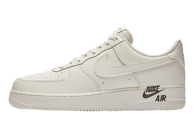 Nike Air Force 1 Stamp Logo Sail