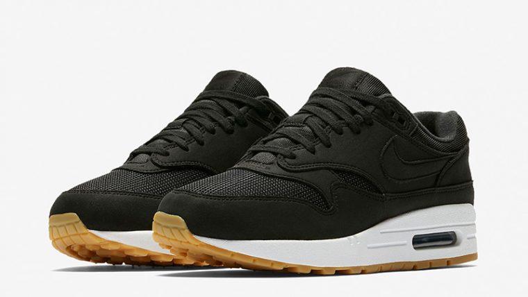 Nike Air Max 1 Black Gum Womens 319986-037 03 thumbnail image