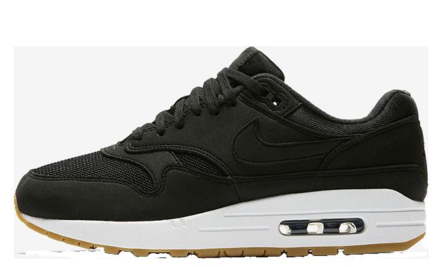 Nike Air Max 1 Black Gum Womens 319986-037