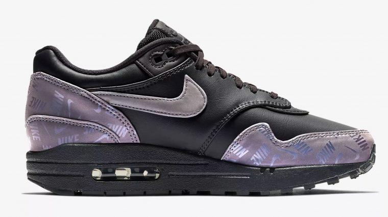 Nike Air Max 1 LX Oil Grey | 917691-001 thumbnail image