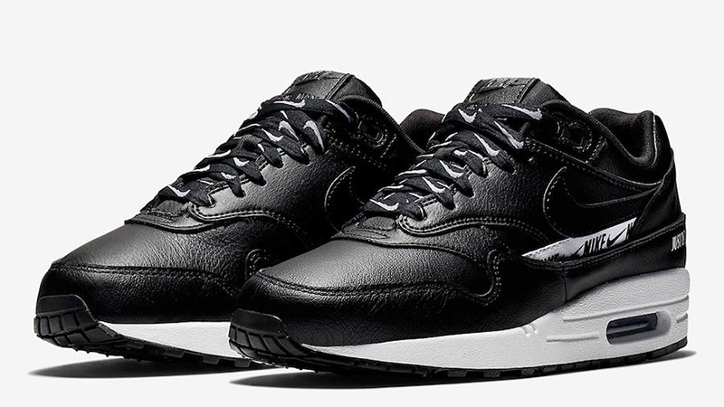 Nike Air Max 1 SE Black Womens | 881101