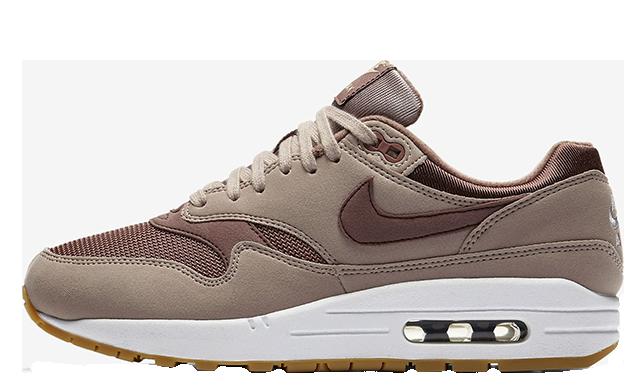 Nike Air Max 1 Taupe Gum Womens 319986-204