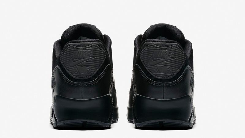 watch 88635 b19a0 Nike Air Max 90 Black Womens 325213-057 001