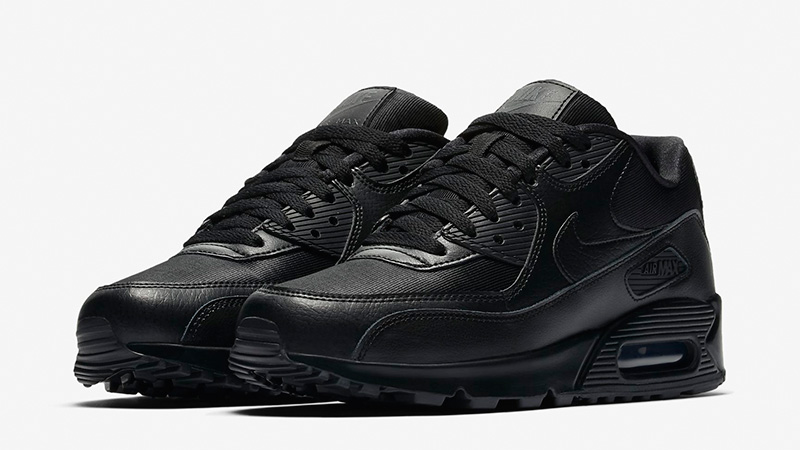official photos fd036 7f8d9 Nike Air Max 90 Black Womens | 325213-057