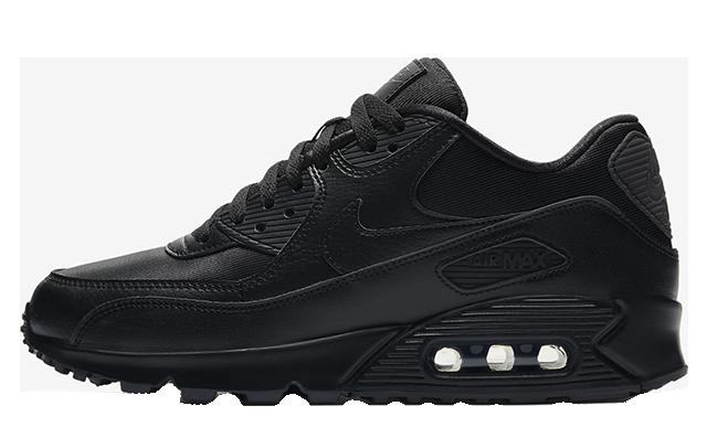 Nike Air Max 90 Black Womens 325213-057