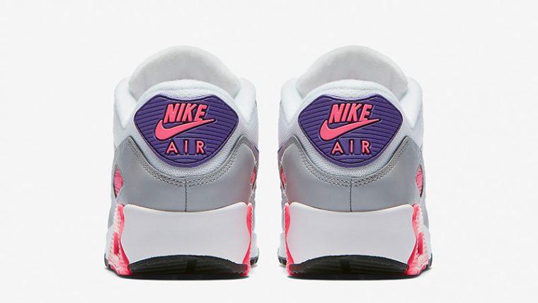 Nike Air Max 90 Grey Pink Womens 325213-136 01 thumbnail image