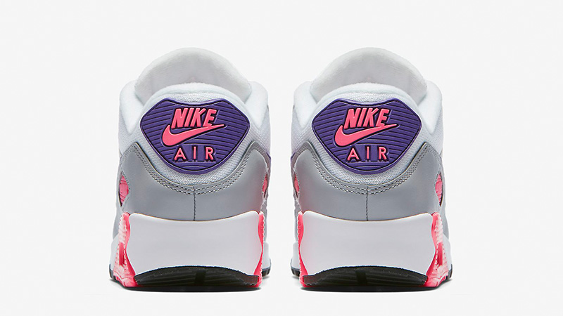 Nike Air Max 90 Grey Pink Womens 325213-136 01
