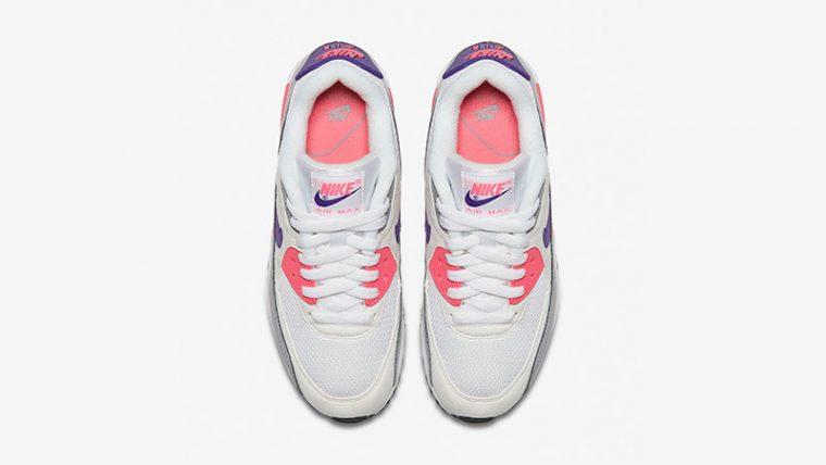 Nike Air Max 90 Grey Pink Womens 325213-136 02 thumbnail image